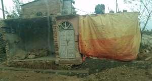 Haus am Starßenrand in Kathmandu