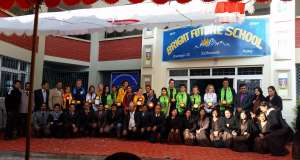 Lehrer der BrightFutureSchool mit deutscher Gruppe